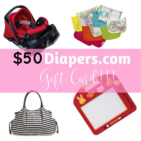 Diaper Gift Card - 50 gift card diaper giveaway one awesome momma