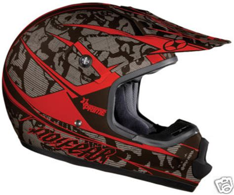 no fear motocross helmet cyclesportscsi no fear prime mx youth helmet red red