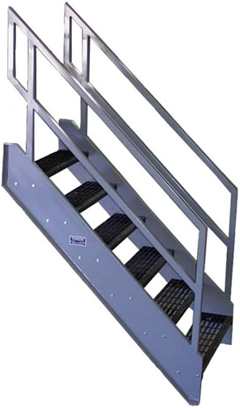 Pre Fab Stairs by Galvanized Stairs Metal Stairs Osha Prefab Stairways
