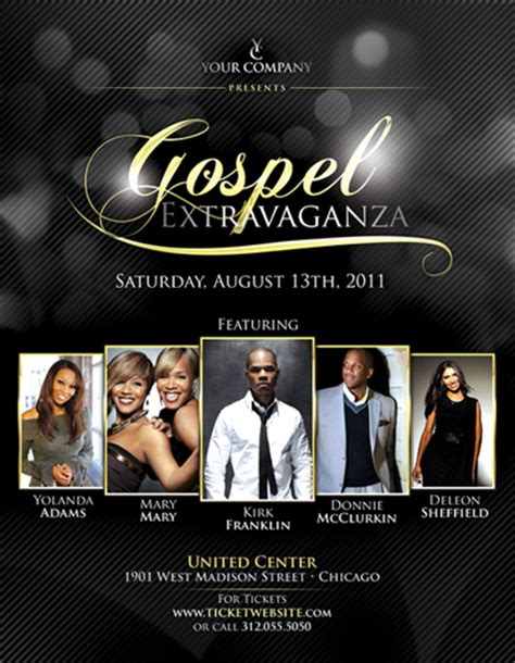 gospel meeting flyer template gospel flyer psd template by natebelow0 deviantart for