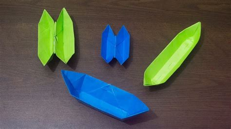 Sell Origami - how to make an origami boat easy origami boat crafts