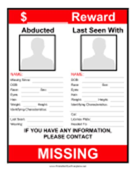 reward if found template pictures to pin on pinterest