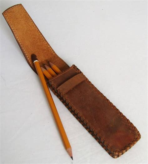 Handmade Leather Pencil - 25 best ideas about leather pencil on