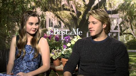 the best of me cast malone interviews the cast of quot best of me quot
