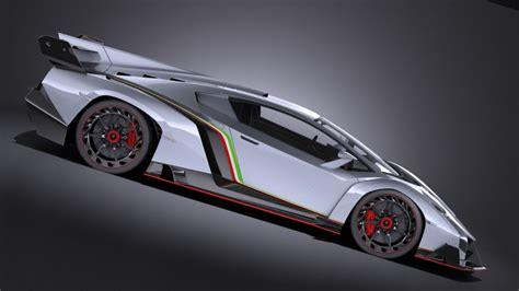 Lamborghini Veneno Race Lamborghini Veneno 2016 Vray 3d Model Cgstudio