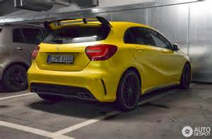 Mercedes Yellow Yellow Mercedes A45 Amg Looks Damn