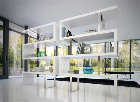 bookshelf partition 34 freestanding shelving systems that double as room