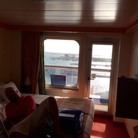 balcony cabin 8340 on carnival liberty category 8d