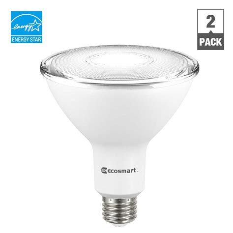 dimmable led light bulbs ecosmart 100w equivalent bright white spiral cfl light