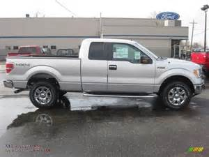 Supercab Ford 2011 Ford F150 Xlt Supercab 4x4 In Ingot Silver Metallic