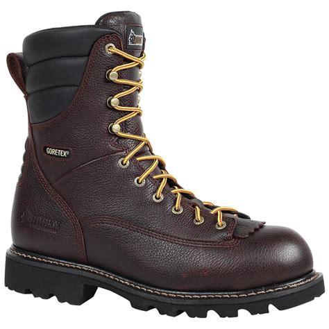 rocky 174 great oak waterproof low heel logger boots 578330