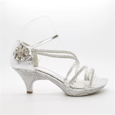 Low Bridal Shoes by Bridal Shoes Size Womens Diamante Wedding Low