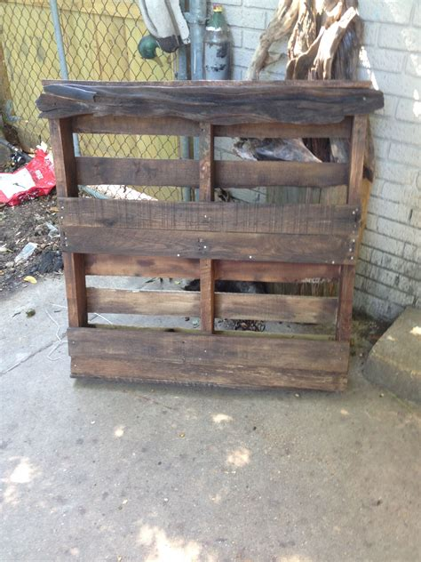 pallet entryway tables pallet