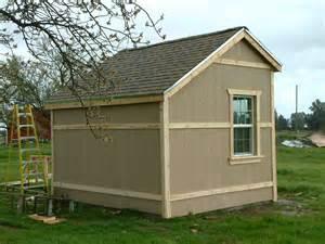 barn door slab saltbox shed