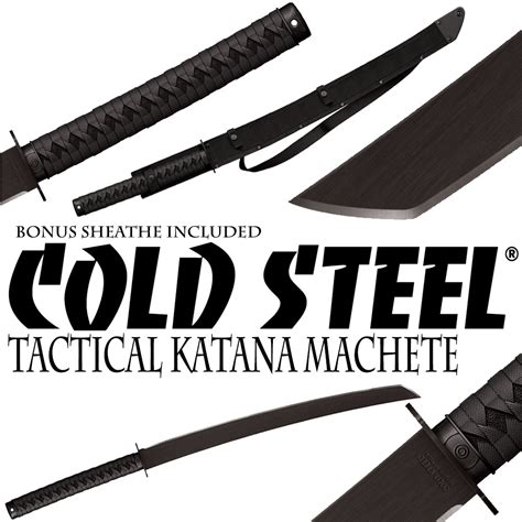 cold steel katana machete cold steel tactical katana machete