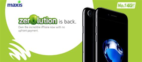 maxis relaunched new zerolution for iphone x zing gadget