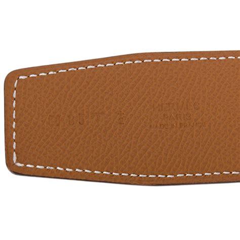 Belt Hermes Reversible 242 Orange Silver Dustbag Premium Quality hermes 42mm reversible orange gold constance h belt brushed gold buckle 85 cm world s best