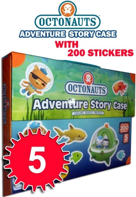 the octonauts underwater adventures box set books octonauts adventure story 5 book collection box set