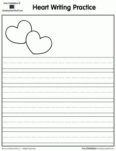 free printable story paper for second grade free lined