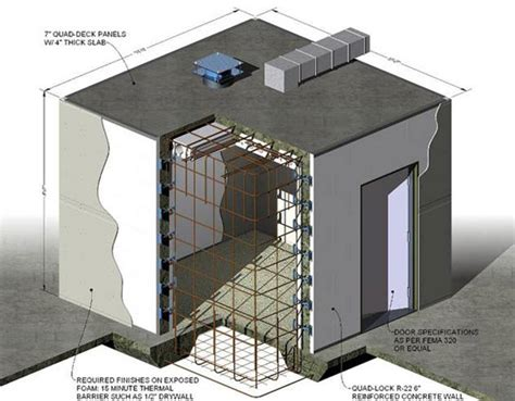 Panic Room Construction Plans technokontrol home office panic rooms bunkers