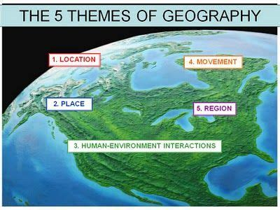 5 themes of geography california posts blog and study on pinterest