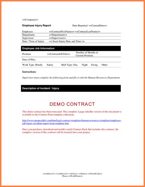 Report Letterhead 5 Company Report Form Company Letterhead