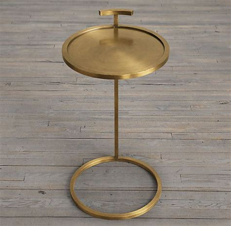 martini side table martini side table brass restoration hardware 260 our
