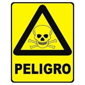 imagenes de simbolos que representen peligro se 209 alamiento de precaucion peligro 20x25 cms precauci 243 n