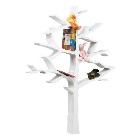 tree bookcase in white for them for the home
