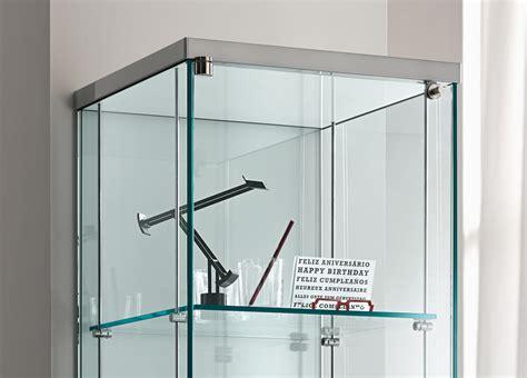 Tonelli Broadway Two Glass Cabinet   Glass Furniture