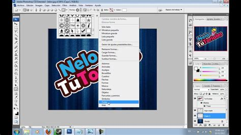 tutorial adobe photoshop cs3 vector photoshop cs3 texto estilo werevertumorro tutorial