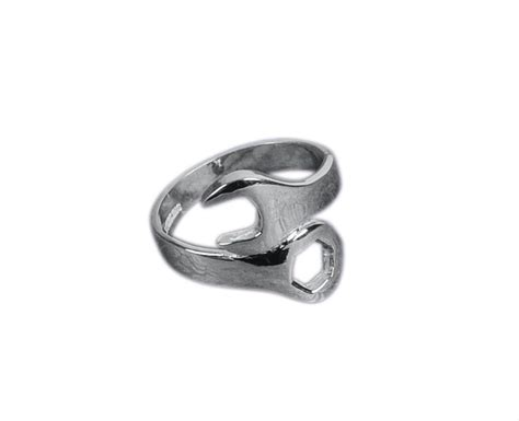 ghh jewelry ring sterling silver combination wrench