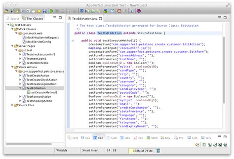 appperfect java unit test appperfect