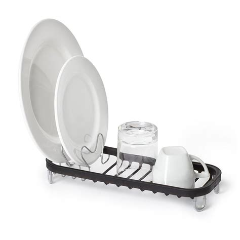 small sink dish rack umbra small dish drainer in dish racks