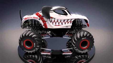 monster jam new trucks image gallery monster mutt dalmatian
