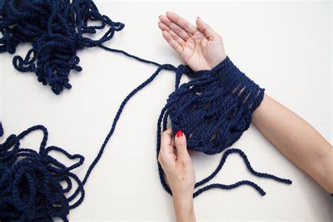 Step By Step Arm Knitting Myideasbedroom