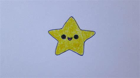 imagenes de estrellas kawaii c 243 mo dibujar una estrella kawaii youtube