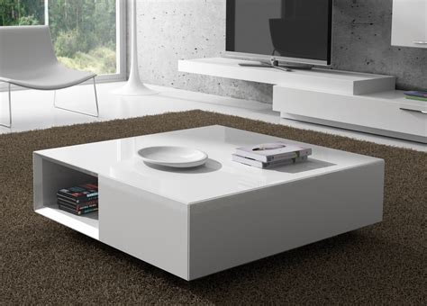 carree coffee table with storage contemporary coffee