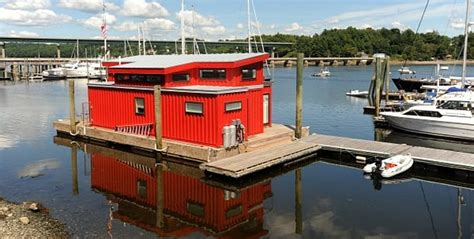 houseboat shipping shipping container homes that float