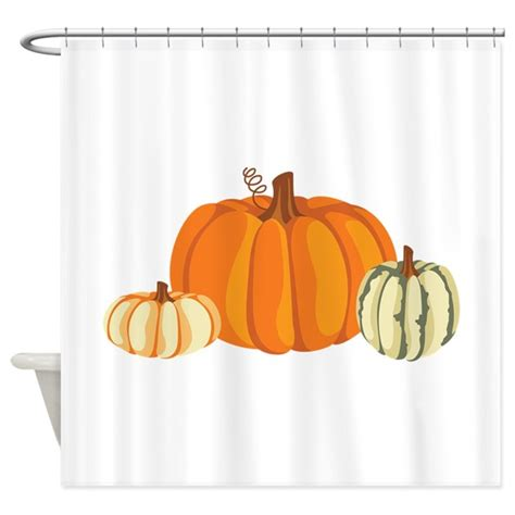 pumpkin shower curtain pumpkins shower curtain by hopscotch7