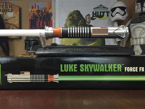 luke skywalker lightsaber replica wars master replica fx luke skywalker