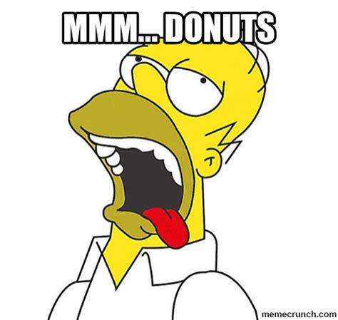 Drooling Meme - homer donuts