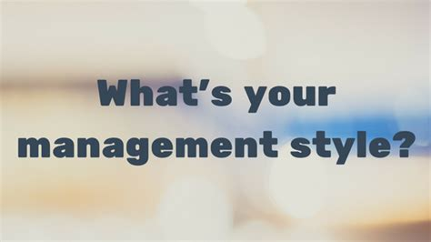 Whats Your Style With Mystylecom by The 6 Types Of Management Styles Infographic