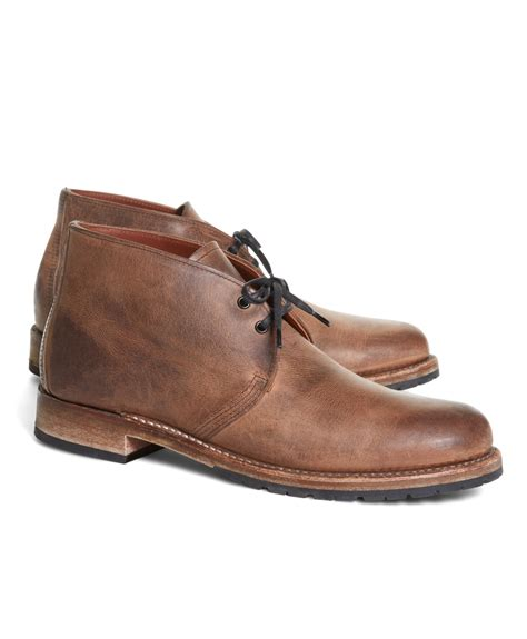 wing chukka boots lyst brothers wing vintage beckham chukka