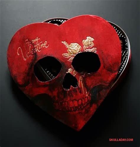 skull valentines from the sorcerer s skull a sorcerer s skull