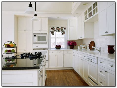 How To Paint Wooden Kitchen Cabinets by Painting Wood Kitchen Cabinets White Home And Cabinet