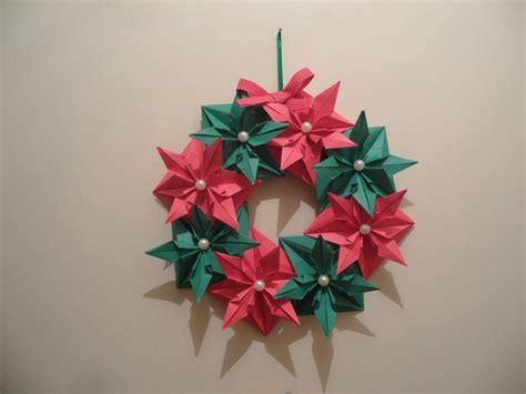 Origami Natal - guirlanda de origami natal lotus origami elo7