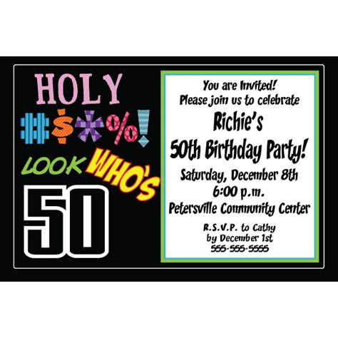 exle 50th birthday invitations free 50th birthday invitations templates 50th birthday invitations