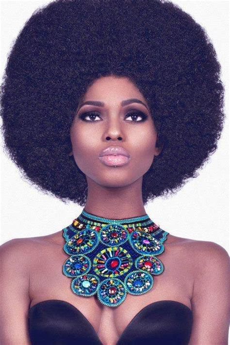lady afro hair styles afro ladies women hair fashion styles love