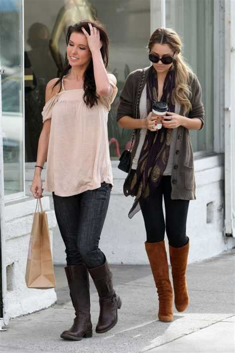 Style Audrina Patridge Fabsugar Want Need by Bodin Channeling My Inner Abroad Style